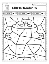 Load image into Gallery viewer, St Patrick's Day Activities for Preschool, St Patrick's Day Math