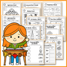 Load image into Gallery viewer, Thanksgiving Activities For Kindergarten Literacy No Prep