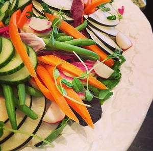 Large Crudite Platter