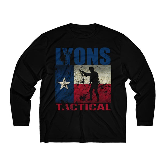 Lyons Tactical Texas Flag Moisture Wicking Shirt