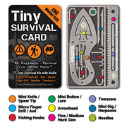 guide to tiny survival card