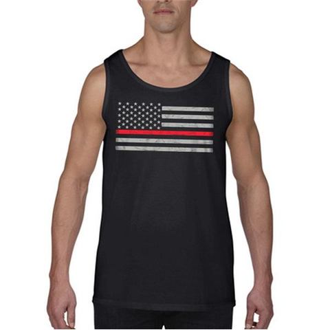 MEN's - Tank Classic Thin Red Line