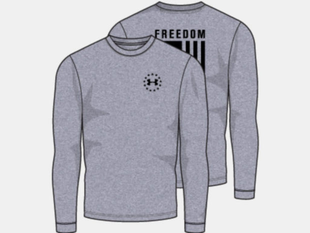 UA Freedom Flag Long Sleeve T-Shirt