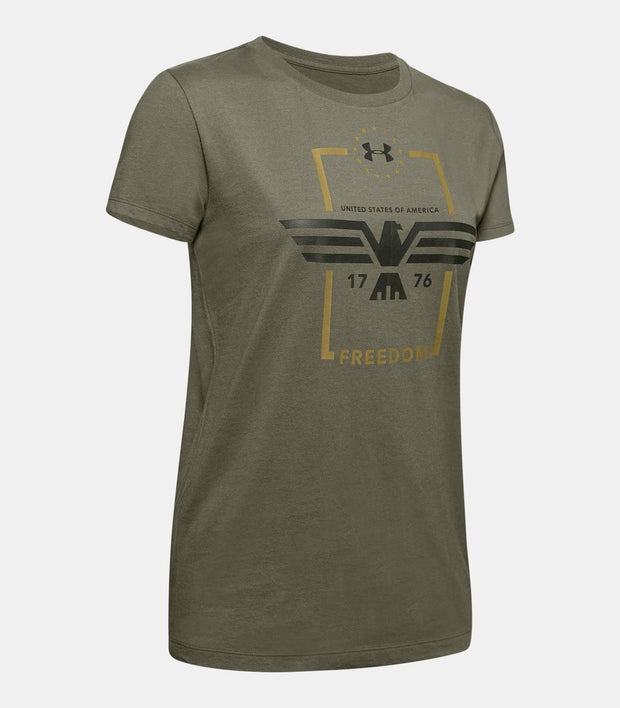 Women's UA Freedom Eagle T-Shirt