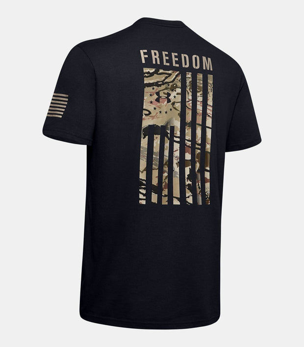 The Patriotic Under Armour Freedom Flag Camo T-Shirt