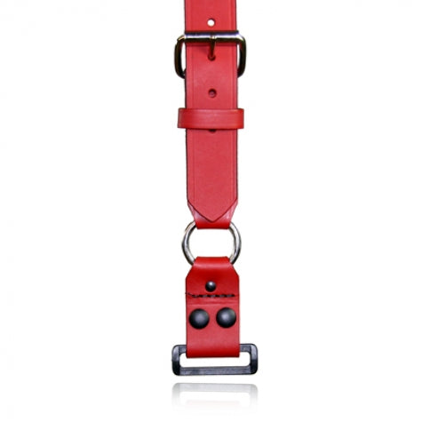 Firefighter's Suspenders, Loop and ABS Rectangular Ring