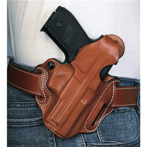Thumb Break Scabbard Belt Holster