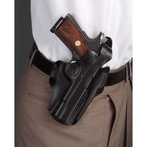 Cocked & Locked Thumb Break Scabbard Belt Holster