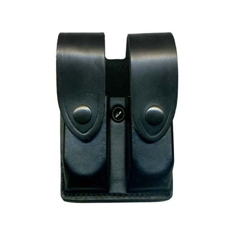 Leather Duty Double Magazine Pouch