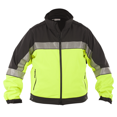 Shield Color Block Soft Shell Jacket