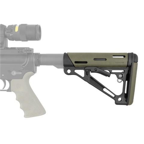 AR-15/M-16 Overmolded Collapsible Buttstock