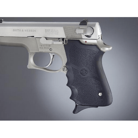 Smith & Wesson 6906 Shorty 40, Rubber Grip