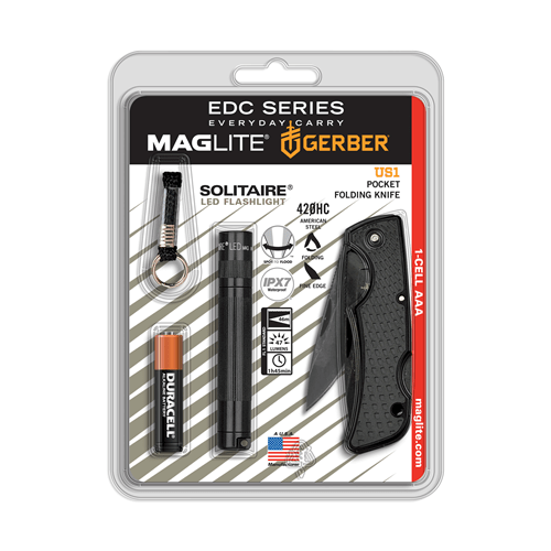 Solitare Led 1 Cell Aaa-knife