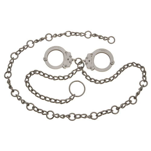 Model 7003c Waist Chain - Handcuffs At Navel