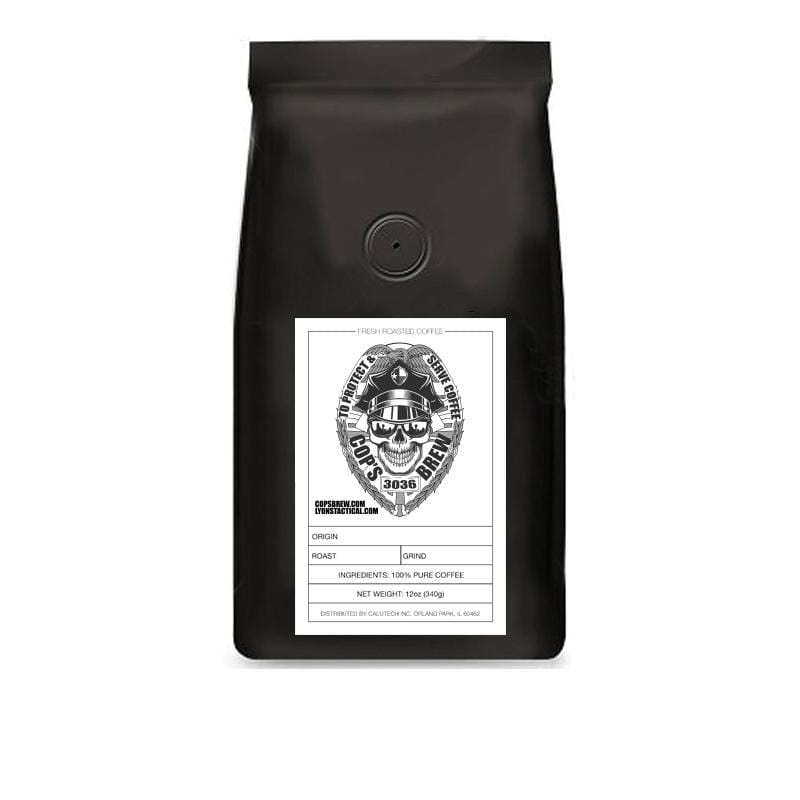 Cop's Brew Colombian Coffee [Days Off, Day Shift & Deep Night Varieties]