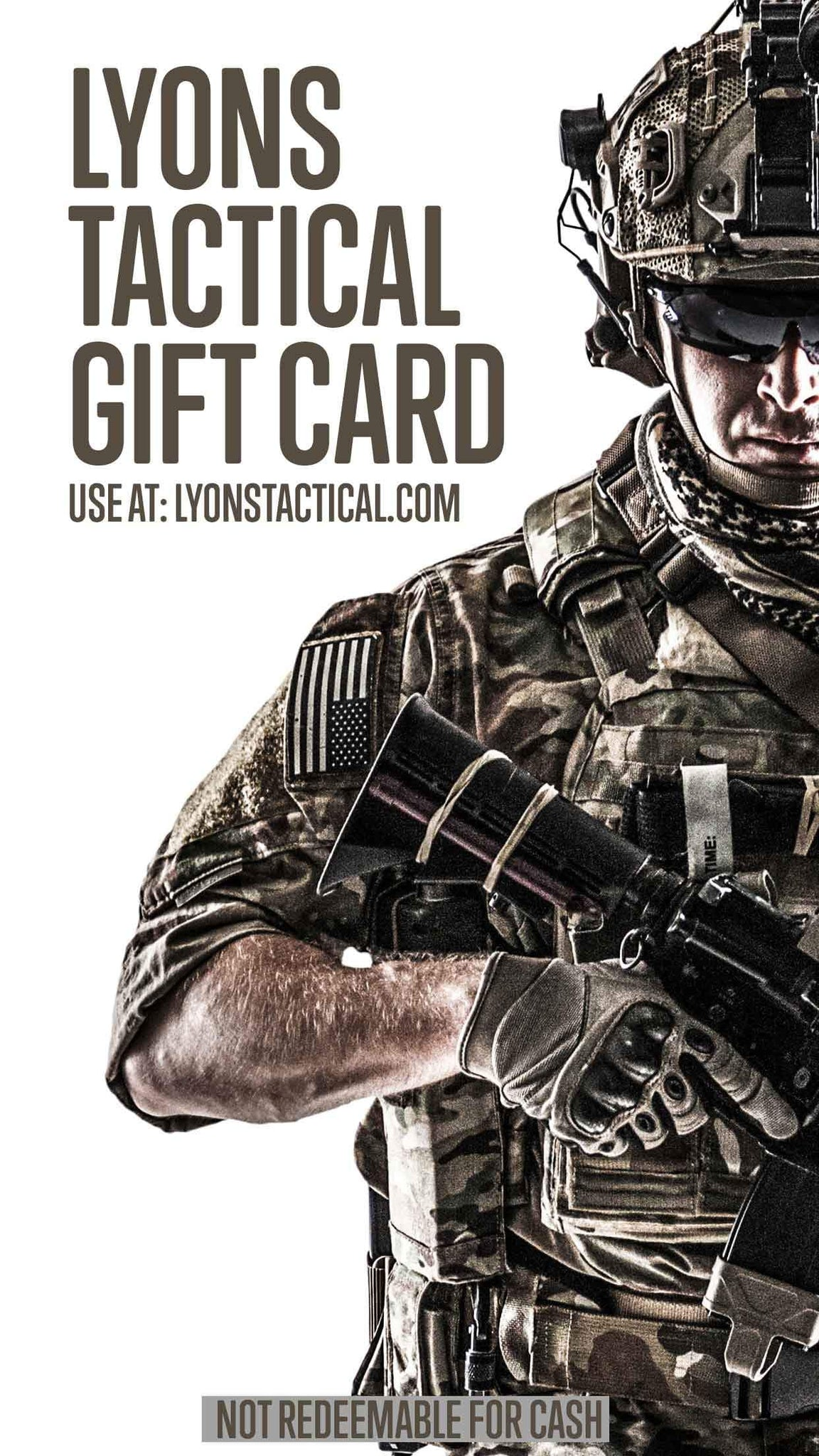 Lyons Tactical Online Gift Cards