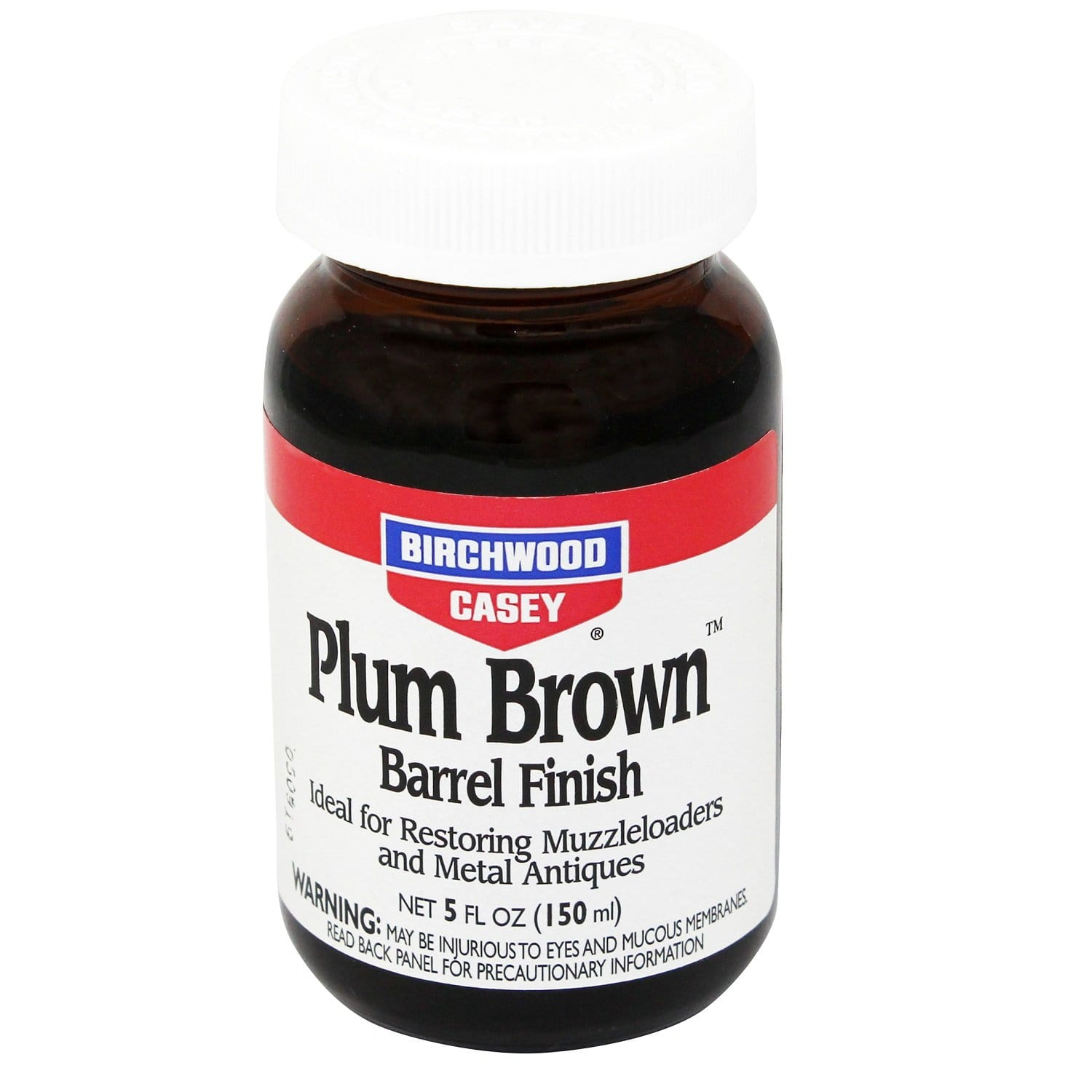Birchwood Casey Plum Brown Barrel Finish 5 Ounce Jar