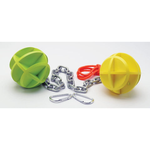 SME Self-Healing Dueling Balls and Chain