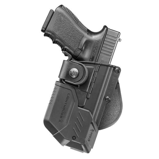 Fobus RBT Tactical Paddle Holster With Lighthouse II-RH