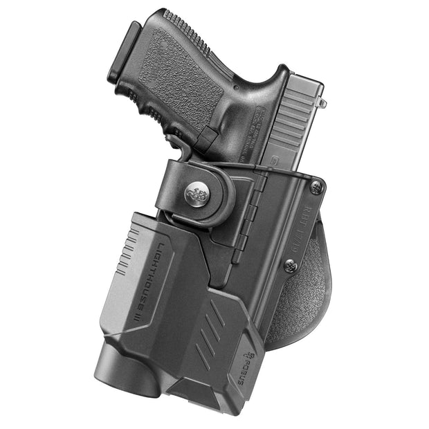 Fobus RBT Tactical Paddle Holster With Lighthouse III-RH