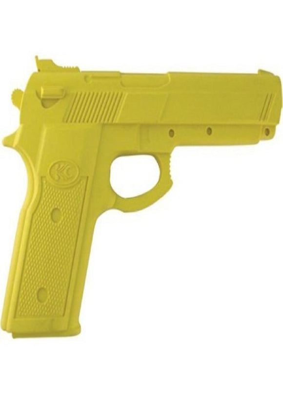 Master Cutlery Rubber Training Gun Yellow
