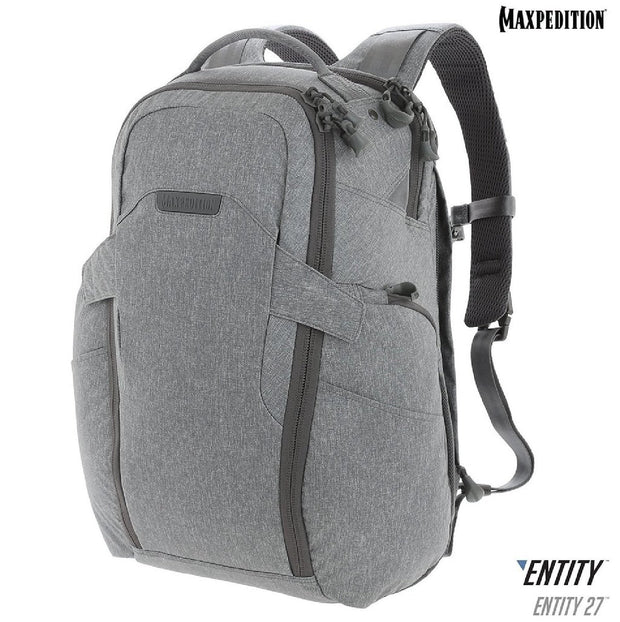 Maxpedition ENTITY 27 CCW-Enabled Laptop Backpack 27L Ash