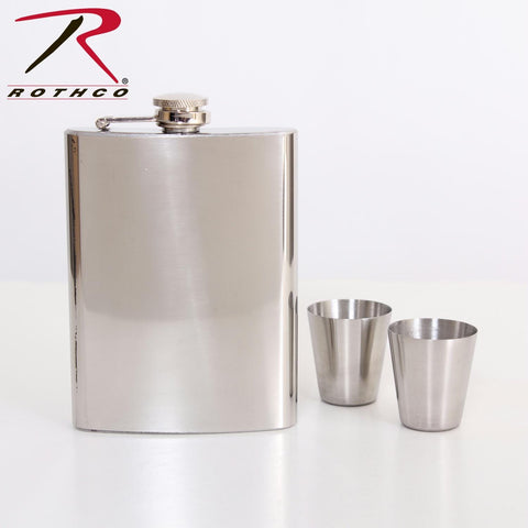 Rothco Stainless Steel Flask Gift Set