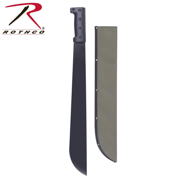 Rothco Bush Pro Steel Machete w-Sheath