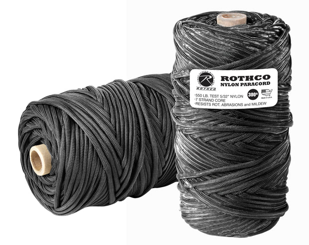 Rothco Nylon Paracord 550lb 300 Ft Tube