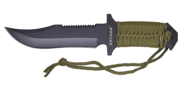 Rothco 7 Inch Paracord Knife with Fire Starter