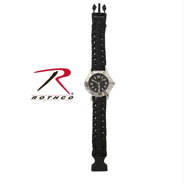 Rothco Paracord Bracelet Watch