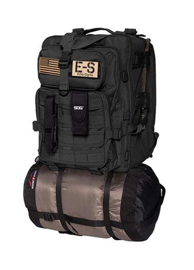 best Echo-Sigma Emergency Bug Out Bag Black