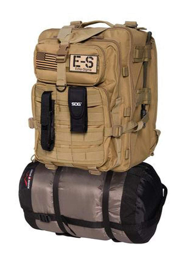 best Echo-Sigma Emergency Bug Out Bag Coyote