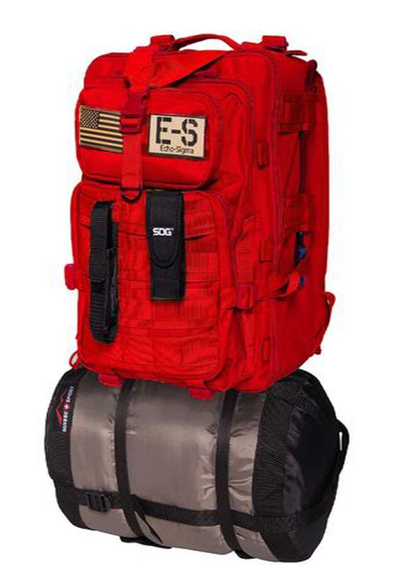 best Echo-Sigma Emergency Bug Out Bag Red