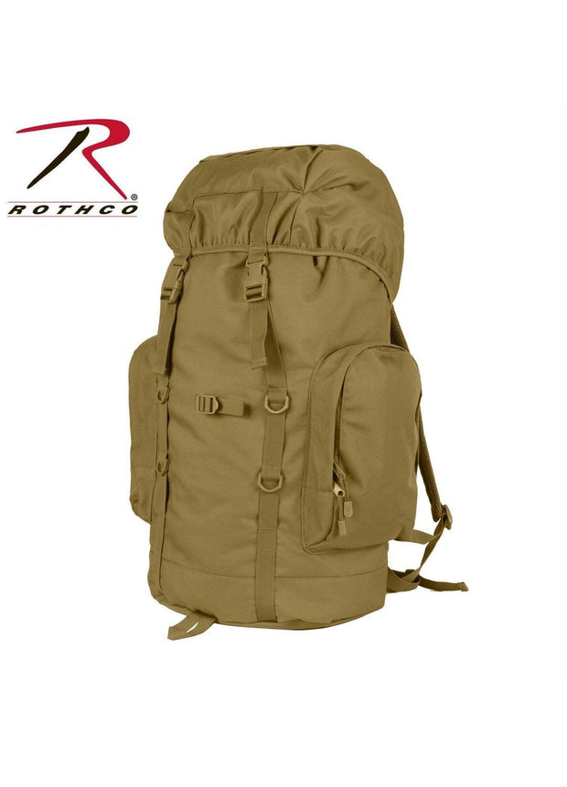 best Rothco 45L Tactical Backpack Coyote Brown