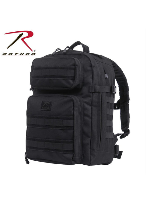 best Rothco Fast Mover Tactical Backpack Black