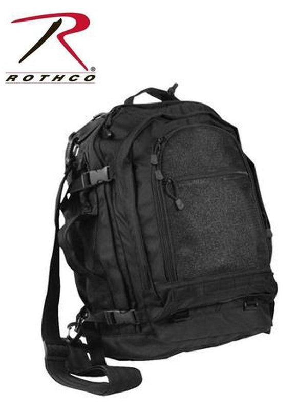 best Rothco Move Out Tactical/Travel Backpack Black