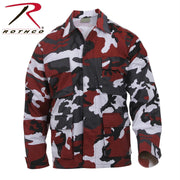 best Rothco Color Camo BDU Shirt Red Camo M