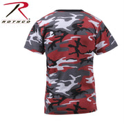 Rothco Colored Camo T-Shirts Red Camo XL