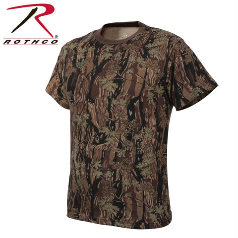 Rothco Colored Camo T-Shirts Smokey Branch Camo 2XL