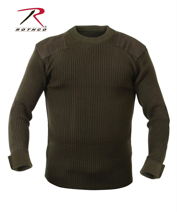 best Rothco G.I. Style Acrylic Commando Sweater Olive Drab 5XL
