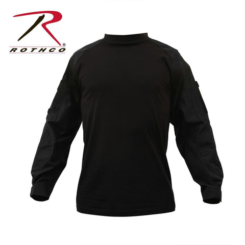 best Rothco Military FR NYCO Combat Shirt Black 3XL