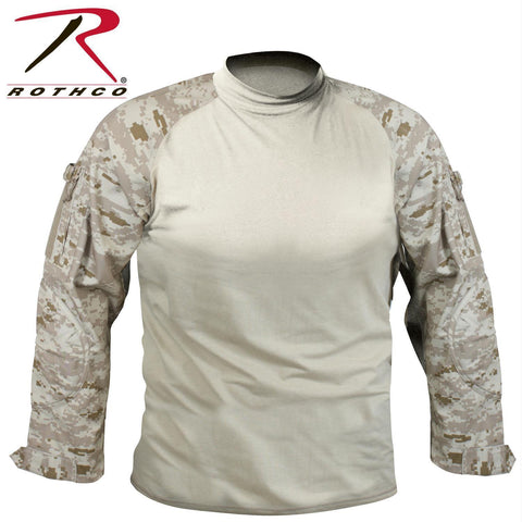 best Rothco Military FR NYCO Combat Shirt Desert Digital Camo 3XL