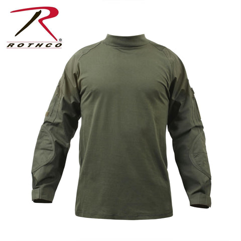 best Rothco Military FR NYCO Combat Shirt Olive Drab 2XL