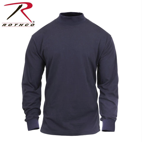best Rothco Mock Turtleneck Midnight Navy Blue 3XL