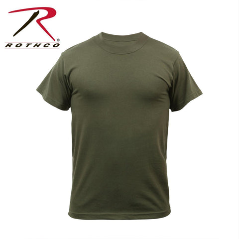 Rothco Solid Color Poly/Cotton Military T-Shirt Olive Drab 3XL