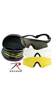 Rothco ANSI Rated Interchangeable Goggle Kit