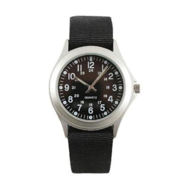best tactical Rothco Military Style Quartz Watch Black