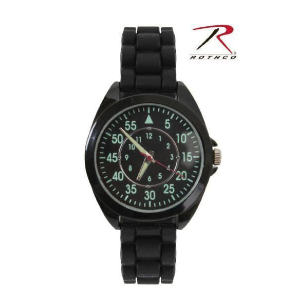 best tactical Rothco Military Style Watch Silicone Strap