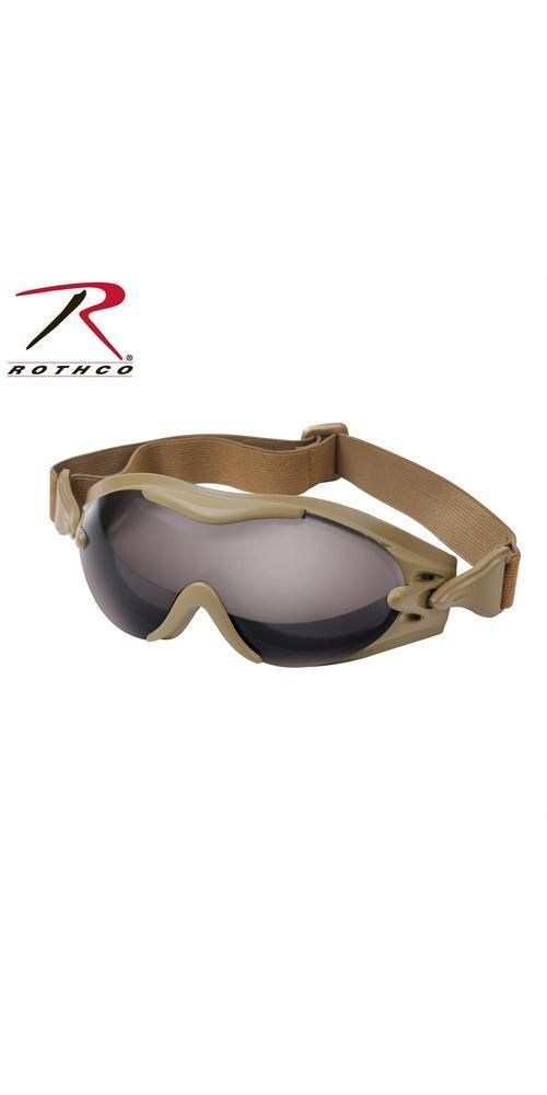 Rothco SWAT Tec Single Lens Tactical Goggle Coyote Brown